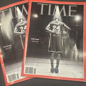 Time magazine Kobe Bryant 1978-2020 special edit.